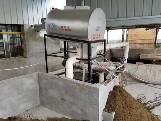 猪粪浓缩挤压式固液分离机